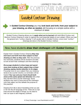 Learning to Draw with Contour Drawing
