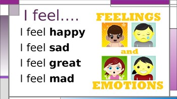 Learning to Express Feelings Mini Lesson