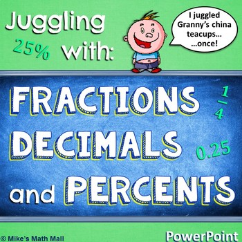 Fractions, Decimals, and Percents (PowerPoint Only)