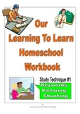 Learning To Learn: Homeschool Study Skills Workbook: note-