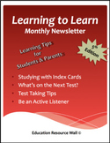 Learning to Learn Newsletter for Parents & Students - 5th Edition