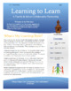 Learning to Learn Newsletter for Parents & Students - 1st Edition