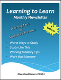 Learning to Learn Newsletter for Parents & Students - 4th Edition