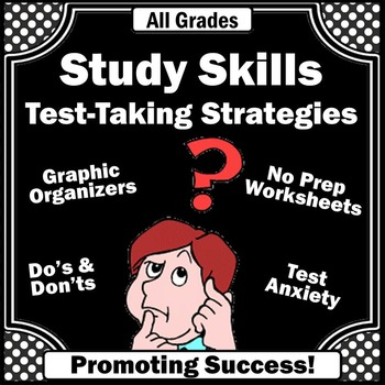 Study Skills Activities, Test Taking Strategies, Special Education Resources