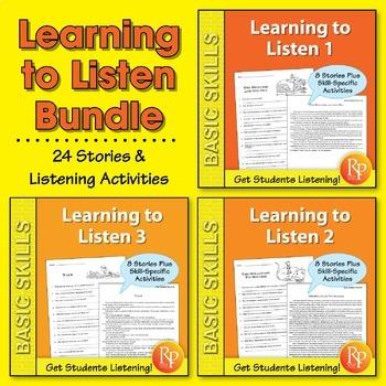 Learning to Listen {Bundle}
