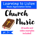 Learning to Listen - Church Music - Distance Learning, Mus