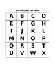Learning to Read: Lesson 1: Letter Recognition