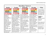 Learning to Read and Write and Exploring Emotions Repeated Read Aloud Plans