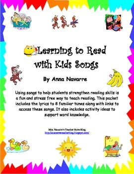 Learning to Read with Kids Songs