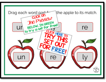 Decode Multisyllabic Words Learning to Recognize Word Parts BOOM CARDS SETS 1-12