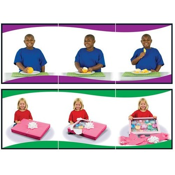 Learning to Sequence: 3 Scene Set Boxed Game Grades PK-1 140088