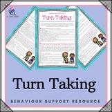 Learning to Take Turns - Skill Development Program - Turntaking!