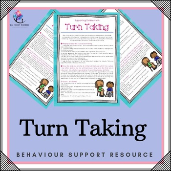Learning to Take Turns - Skill Development Program - Turntaking!