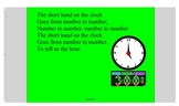 Learning to Tell Time Shared Reading