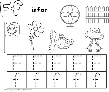 Learning to Trace Letters for Toddlers NO PREP