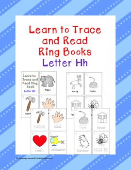 Learning to Trace and Read Ring Book Hh