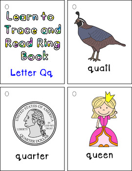 Learning to Trace and Read Ring Book Qq