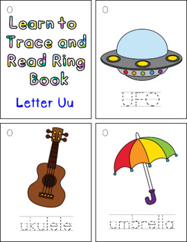 Learning to Trace and Read Ring Book Uu