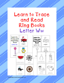 Learning to Trace and Read Ring Book Ww