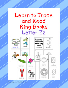 Learning to Trace and Read Ring Book Zz