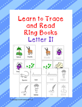 Learning to Trace and Ring Book Letter Ii