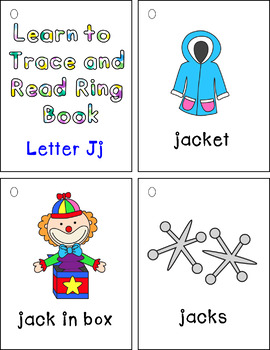 Learning to Trace and Ring Books Jj