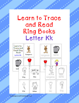 Learning to Trace and Ring Books Kk
