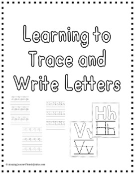 Learning to Trace and Write Letters