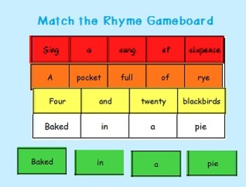 Learning to Track Print with Rhymes - Set 6