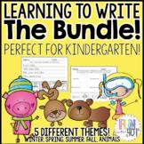 Learning to Write Bundle for Kindergarten!