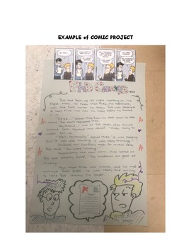 Learning to Write Dialogue Using Comic Strips