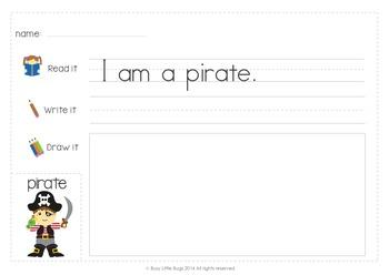 Learning to Write Spooky Sentences- Reading Fluency
