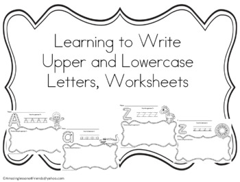 Learning to Write Upper and Lowercase Letters