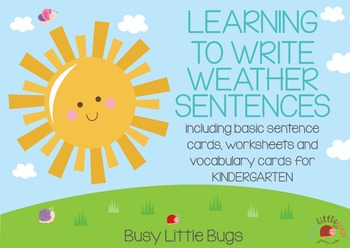 Learning to Write Weather Sentences