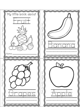 Learning to Write Words Coloring Booklets