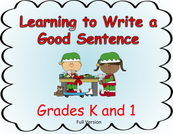 Learning to Write a Good Sentence...Elf  Theme FULL VERSION