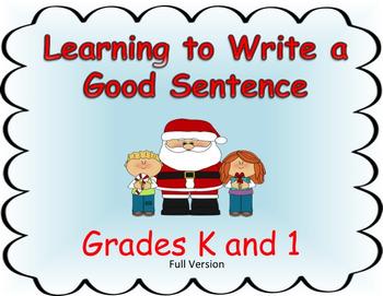 Learning to Write a Good Sentence...Santa Theme FULL VERSION