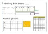 Learning to convert Hexadecimal, Binary and Denary