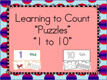 Learning to count with Puzzles