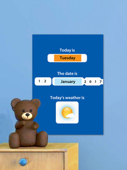 Learning to read calendar