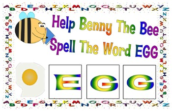 Learning to spell with Benny the bee