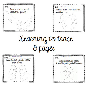 Learning to trace (8 page bundle)