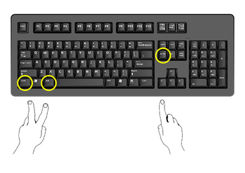 Learning to type keyboard