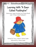 "Learning with ""A Bear Called Paddington"""
