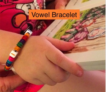 Learning with Beads: Vowel Bracelets