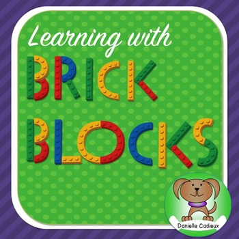 Learning with Brick Blocks ~ Activities and Printables