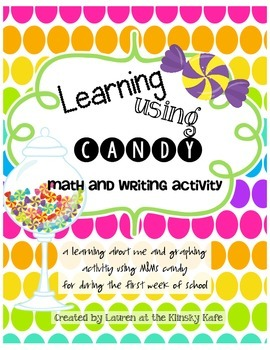 Learning with Candy: A Welcome Back to School Math and Writing Activity
