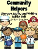 Learning with Community Helpers - A Common Core Literacy and Math Unit