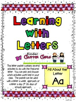 Learning with Letters:  All About the Letter Aa