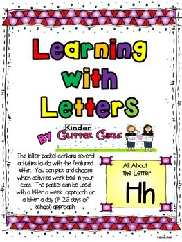 Learning with Letters:  All About the Letter Hh